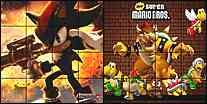 "Click here to go to the ""Sonic Shifting Puzzle 2 and Mario Shifting Puzzle 2"" page (Java Applet powered)"